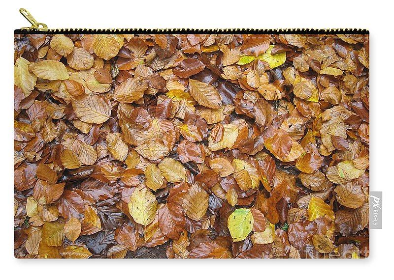 Fall Carry-all Pouch featuring the photograph Fall Leaves by Ad Salaheddine