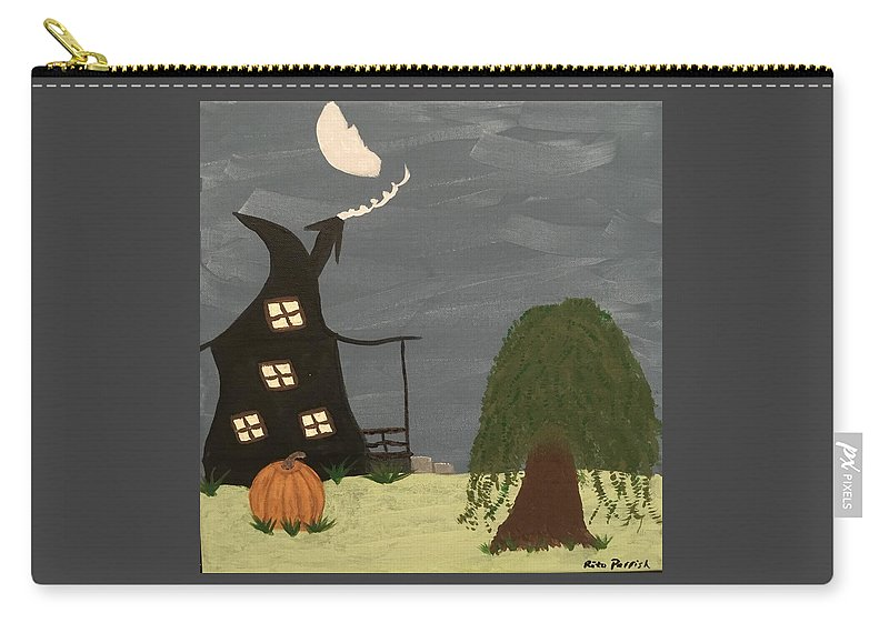Fall Carry-all Pouch featuring the painting Fall by Rita Parrish