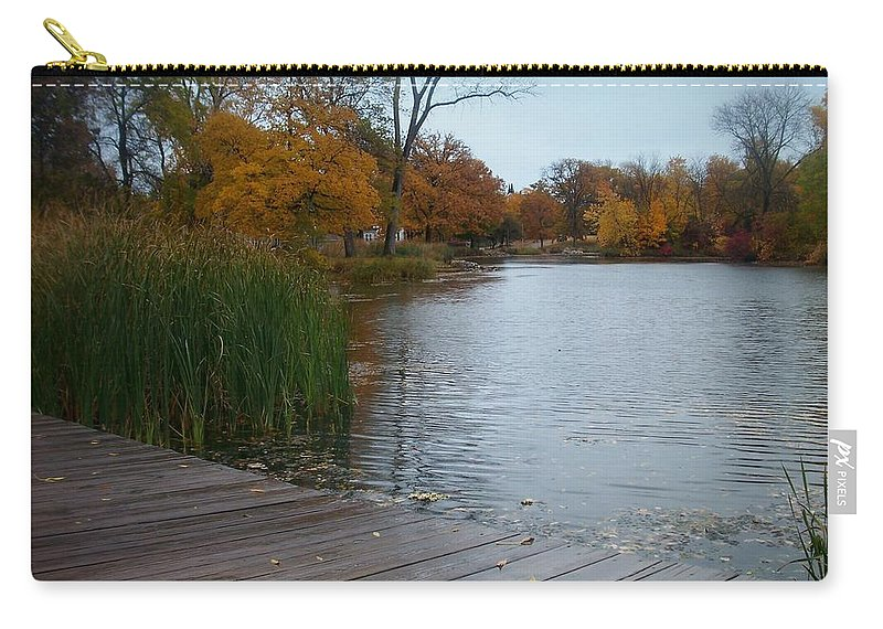 Fall Carry-all Pouch featuring the photograph Fall Series 10 by Anita Burgermeister