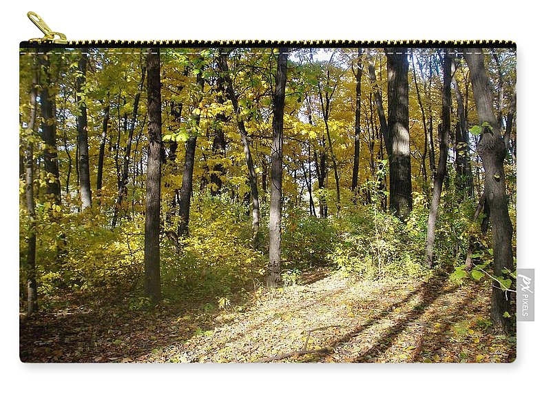 Fall Carry-all Pouch featuring the photograph Fall Series 2 by Anita Burgermeister