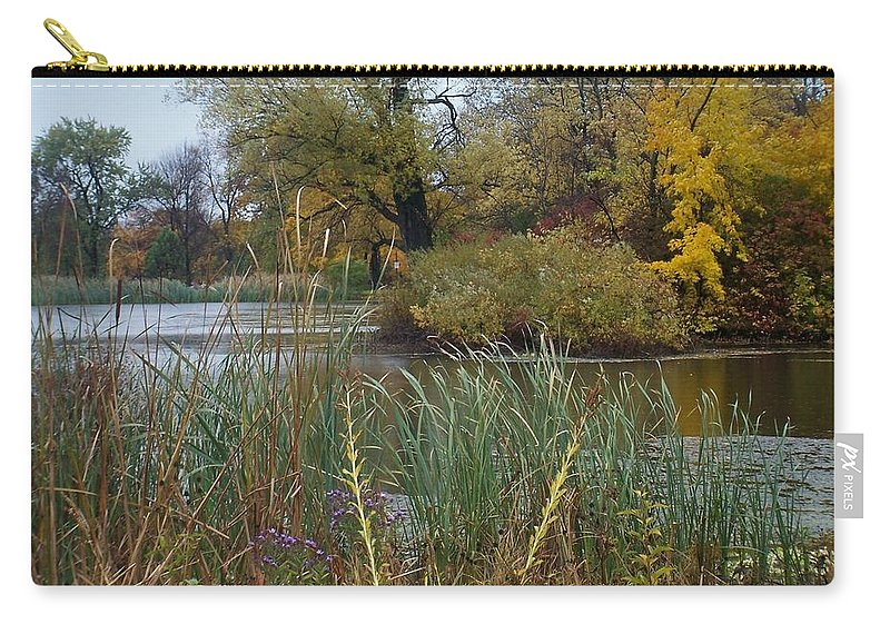 Fall Carry-all Pouch featuring the photograph Fall Series 7 by Anita Burgermeister