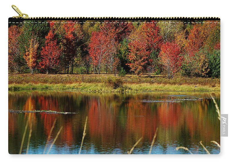 Autumn Carry-all Pouch featuring the photograph Fall Splendor by Linda Murphy