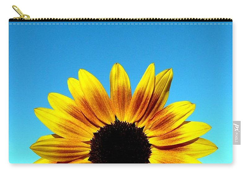 Sunflower Carry-all Pouch featuring the photograph Fall Sunrise by Will Borden