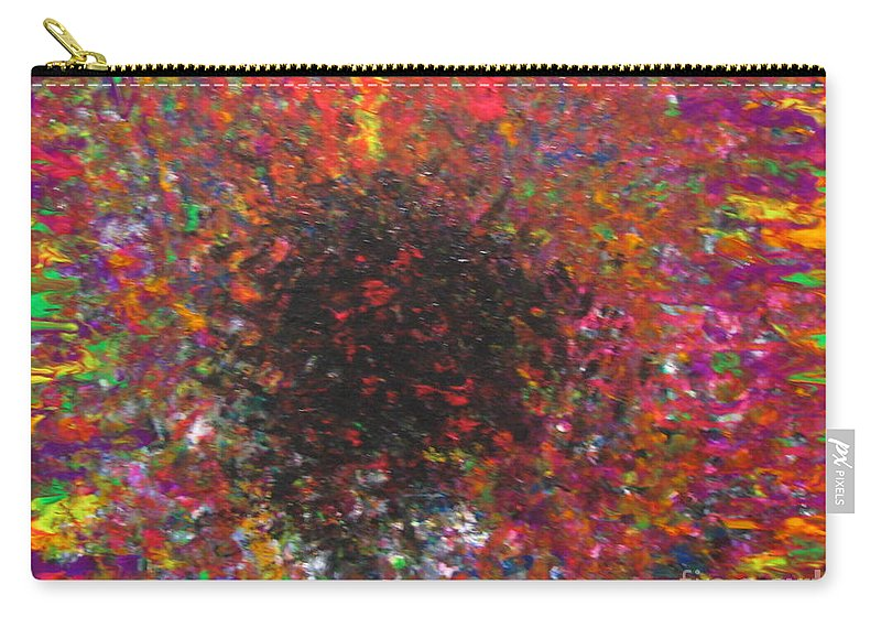 Falling Carry-all Pouch featuring the painting Falling by Jacqueline Athmann