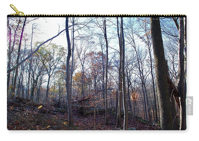 Palisades Carry-all Pouch featuring the photograph Falling by Margaret Fronimos