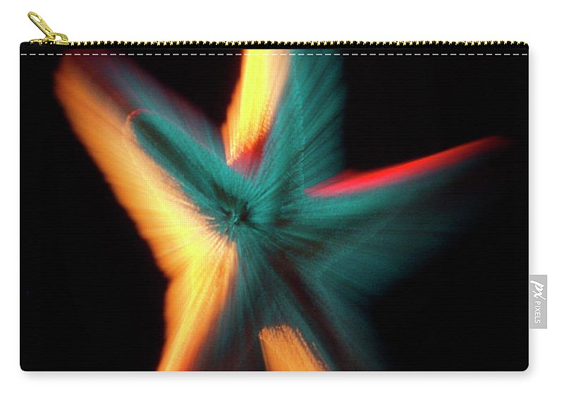 Color Carry-all Pouch featuring the photograph Falling Starfish Two by Frederic A Reinecke