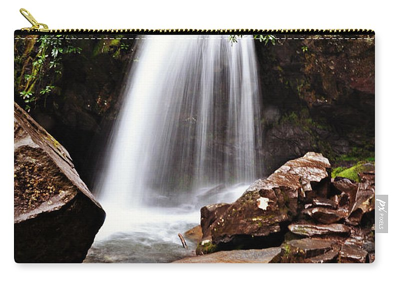 Tennessee Carry-all Pouch featuring the photograph Falls of Tennessee by Eric Liller