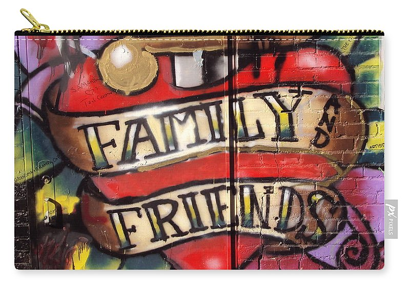 Love Carry-all Pouch featuring the photograph Family by Robert Lowe