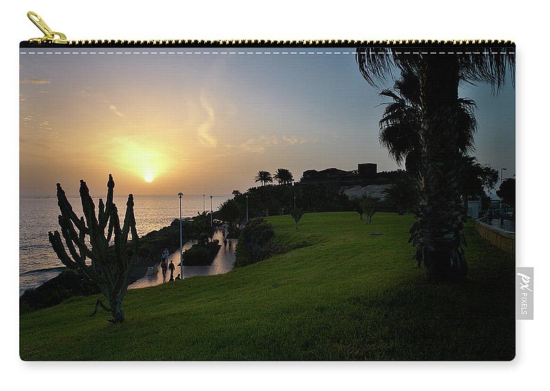 Fanabe Carry-all Pouch featuring the photograph Fanabe Evening 1 by Jouko Lehto