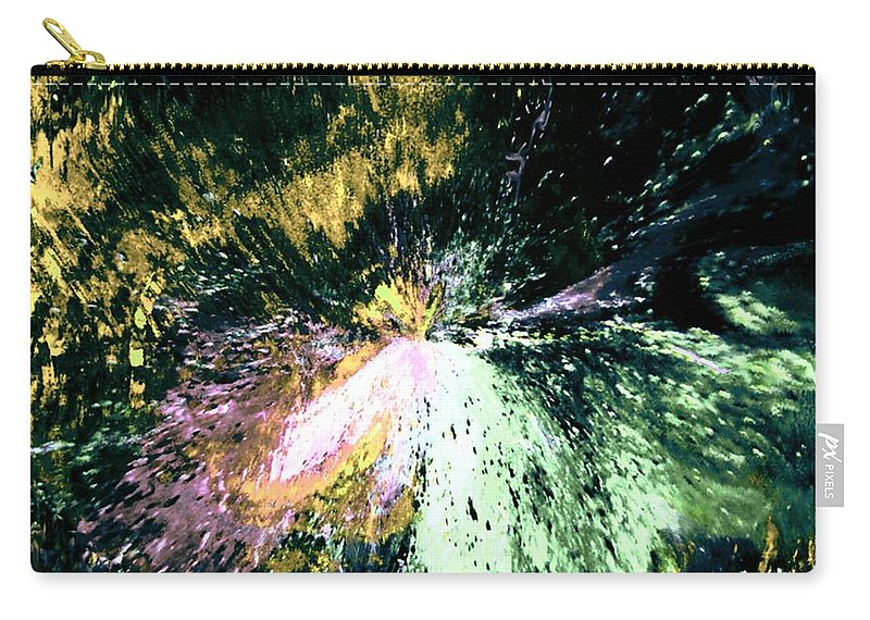 Digital Art Carry-all Pouch featuring the digital art Fanfare by Kendall Eutemey