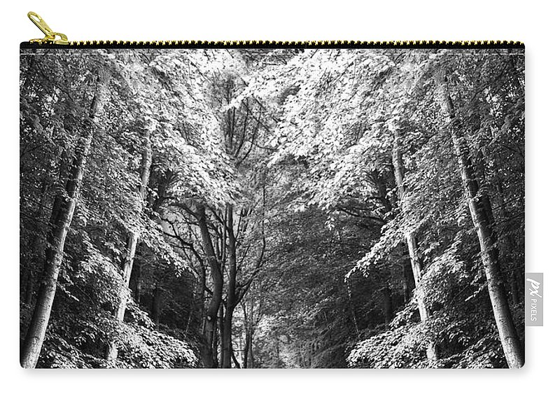 Abstract Carry-all Pouch featuring the photograph Fantasy Land by Svetlana Sewell