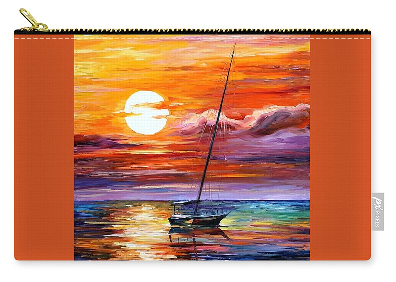 Afremov Carry-all Pouch featuring the painting Far And Away by Leonid Afremov