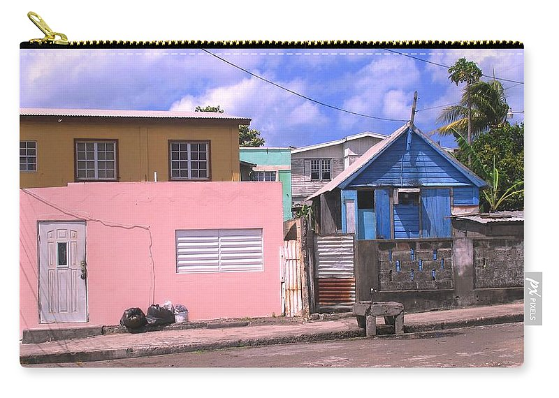Basseterre Carry-all Pouch featuring the photograph Far From Dull by Ian MacDonald