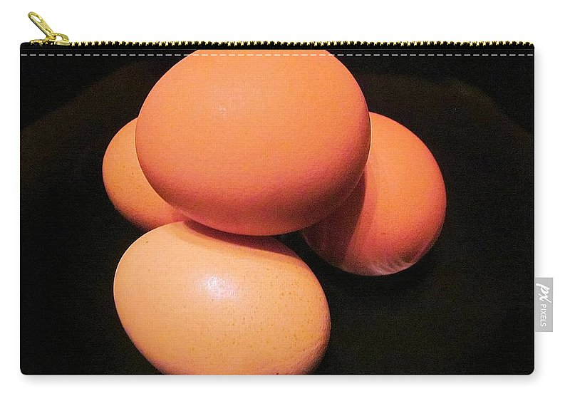 Eggs Carry-all Pouch featuring the photograph Farm Fresh II by Pattie Frost