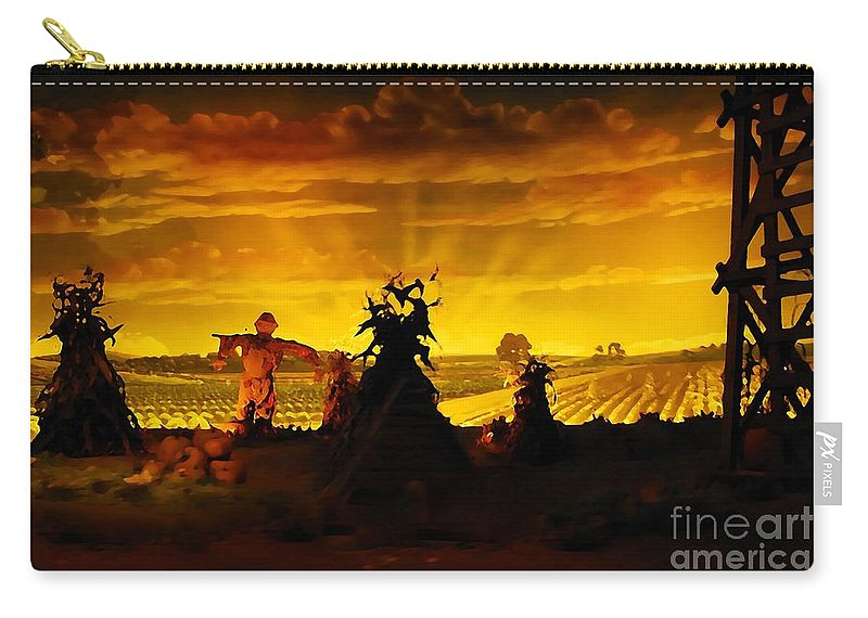 Farm Carry-all Pouch featuring the photograph Farm Scape by David Lee Thompson