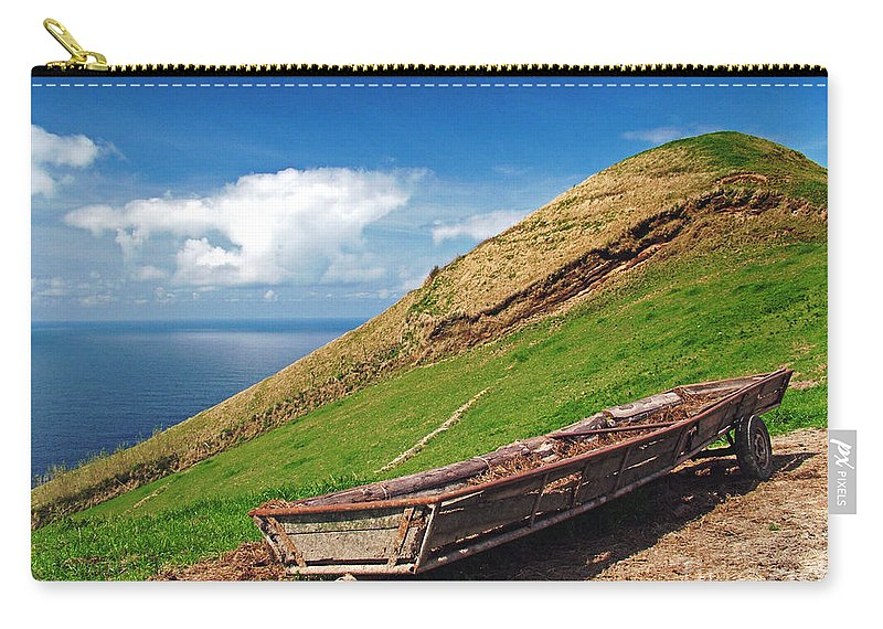 Europe Carry-all Pouch featuring the photograph Farming In Azores Islands by Gaspar Avila