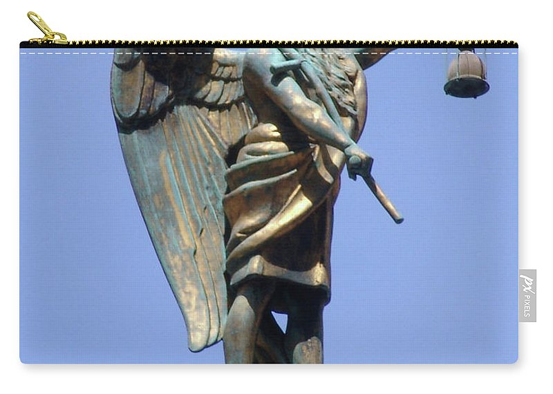 Father Time Carry-all Pouch featuring the photograph Father Time by Di Designs
