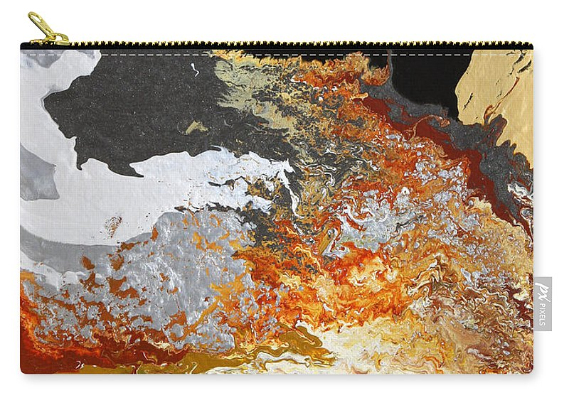 Fusionart Carry-all Pouch featuring the painting Fathom by Ralph White