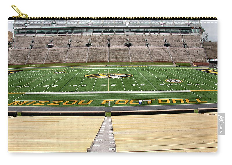 Faurot Field Carry-all Pouch featuring the photograph Faurot Field by Steve Stuller