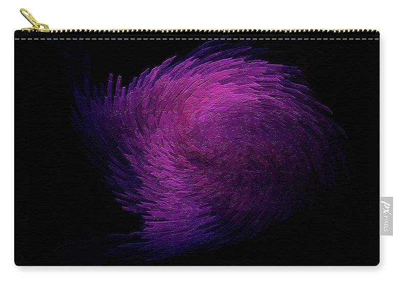 Digitalimage Carry-all Pouch featuring the digital art Feather by Tony Svensson