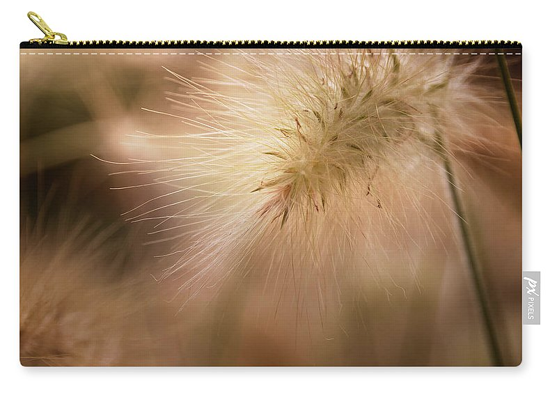 Feathertop Carry-all Pouch featuring the photograph Feathers by Monika Tymanowska