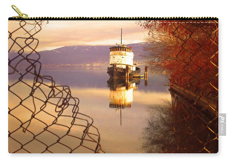 Boat Carry-all Pouch featuring the photograph February 13 2010 by Tara Turner