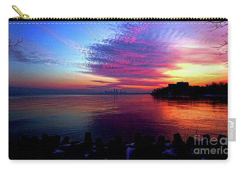 Winter Carry-all Pouch featuring the photograph February's New Hope by Dominic Flauto