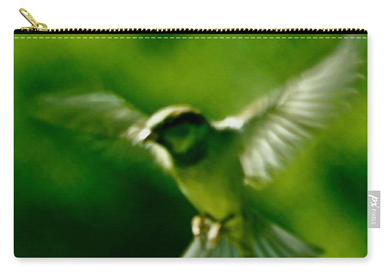 Animal Carry-all Pouch featuring the photograph Feeling Free As A Bird Wall Art Print by Carol F Austin