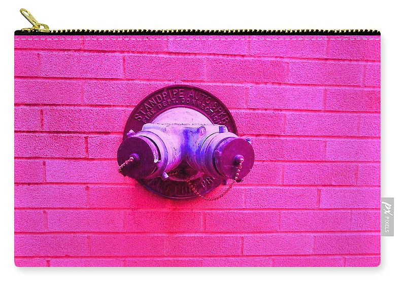 Photograph Carry-all Pouch featuring the photograph Female Pipe by Thomas Valentine