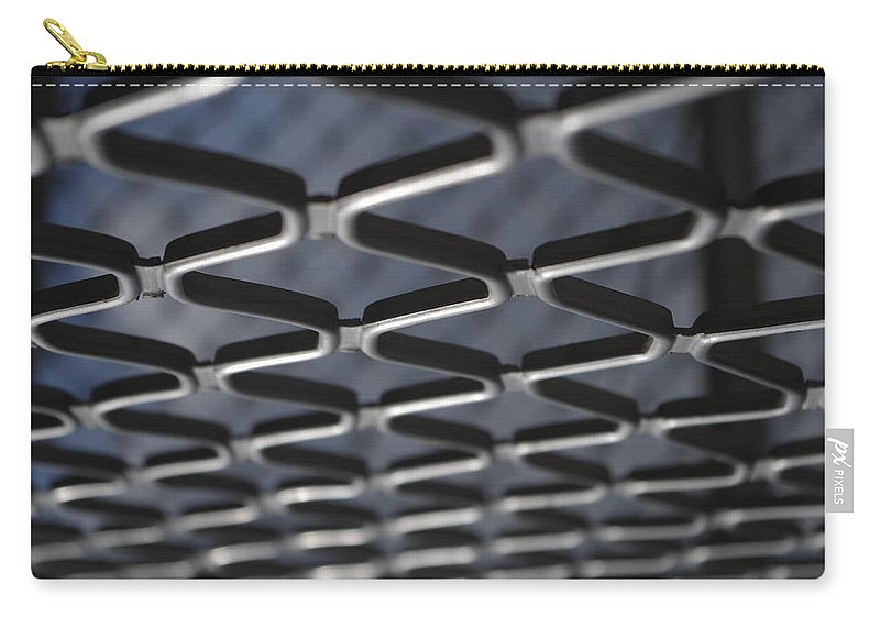 Architecture Carry-all Pouch featuring the photograph Fence by Satish Kumar