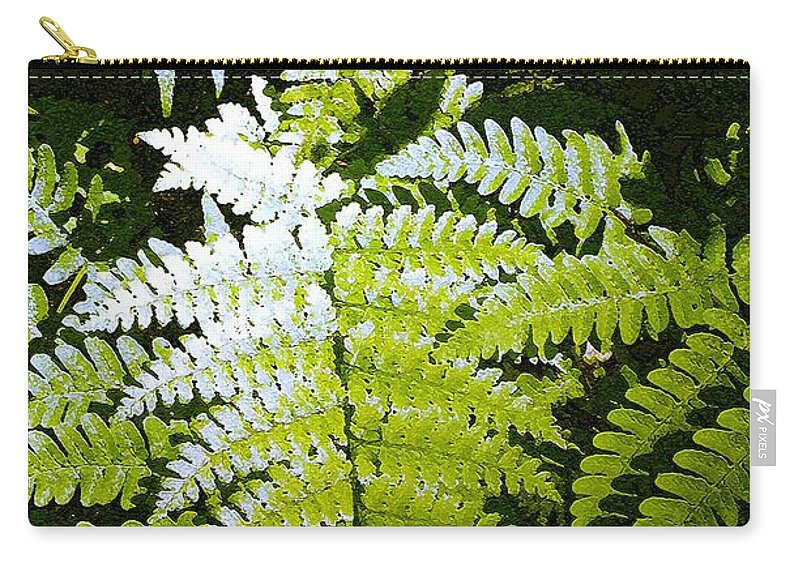 Ferns Carry-all Pouch featuring the photograph Ferns by Nelson Strong