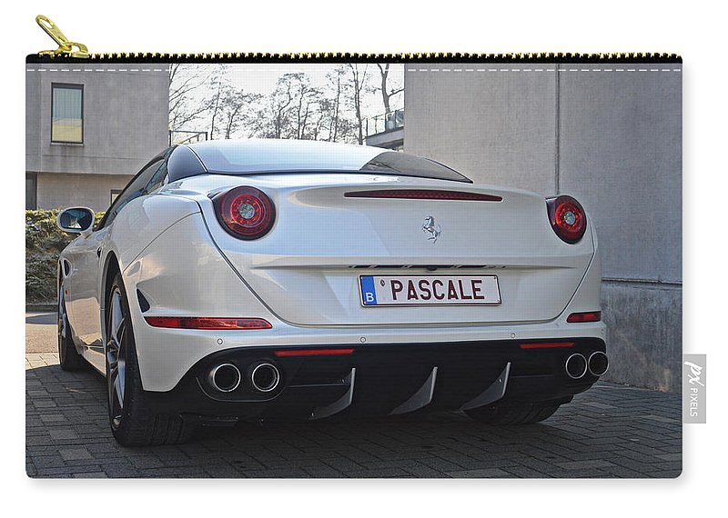 Sportscar Carry-all Pouch featuring the photograph Ferrari California T by Sportscars OfBelgium