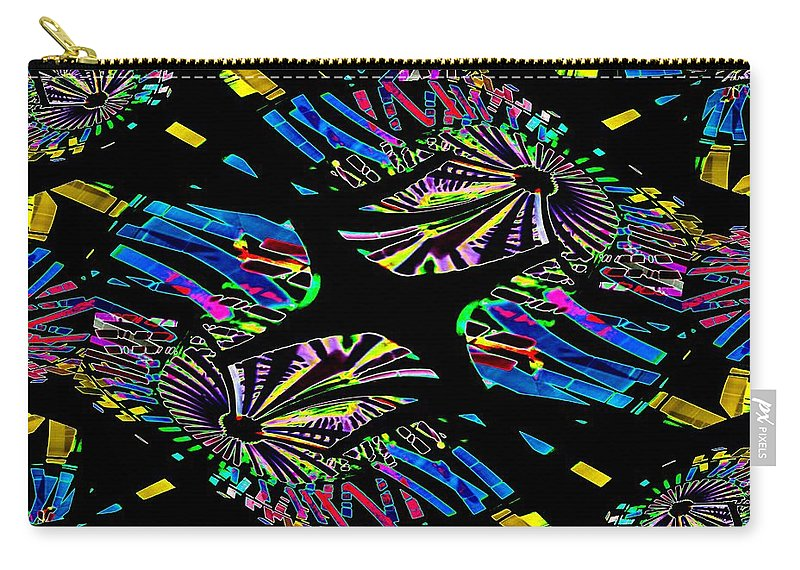 Ferris Wheel Carry-all Pouch featuring the photograph Ferris Wheel 3 by Tim Allen