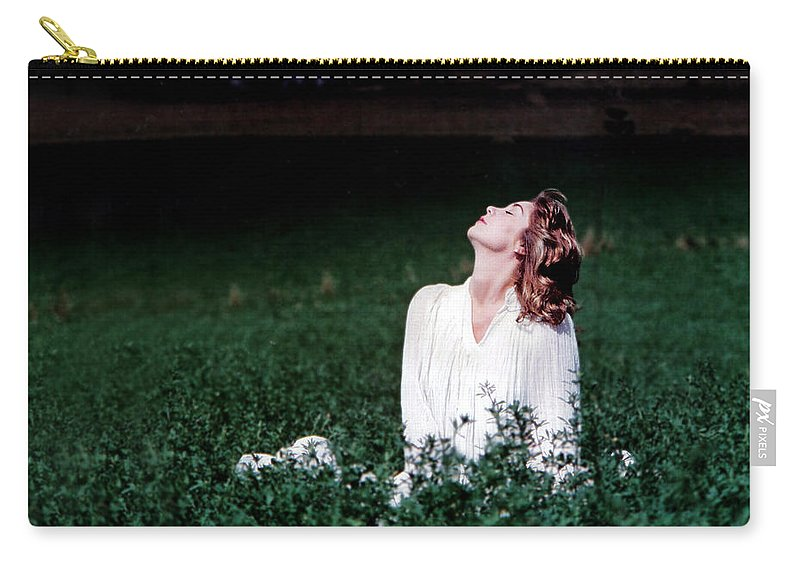 Woman Carry-all Pouch featuring the photograph Field Of Dreams by D'Arcy Evans