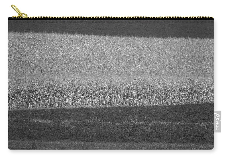 Fields Carry-all Pouch featuring the photograph Fields Near Madison by Steven Ralser