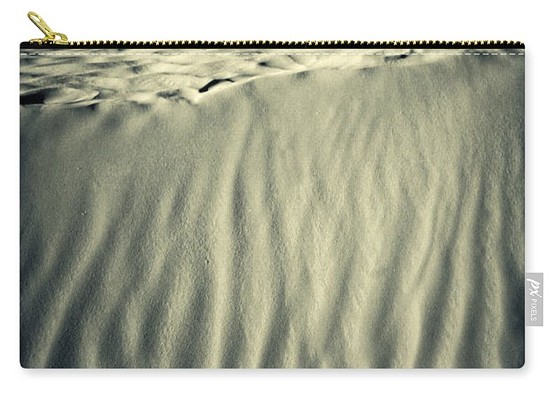 Africa Carry-all Pouch featuring the photograph Fiery Desert Sand II by Silvia Ganora