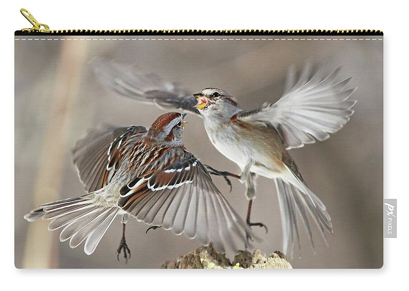 Fight Club Carry-all Pouch featuring the photograph Fight Club by Mircea Costina Photography