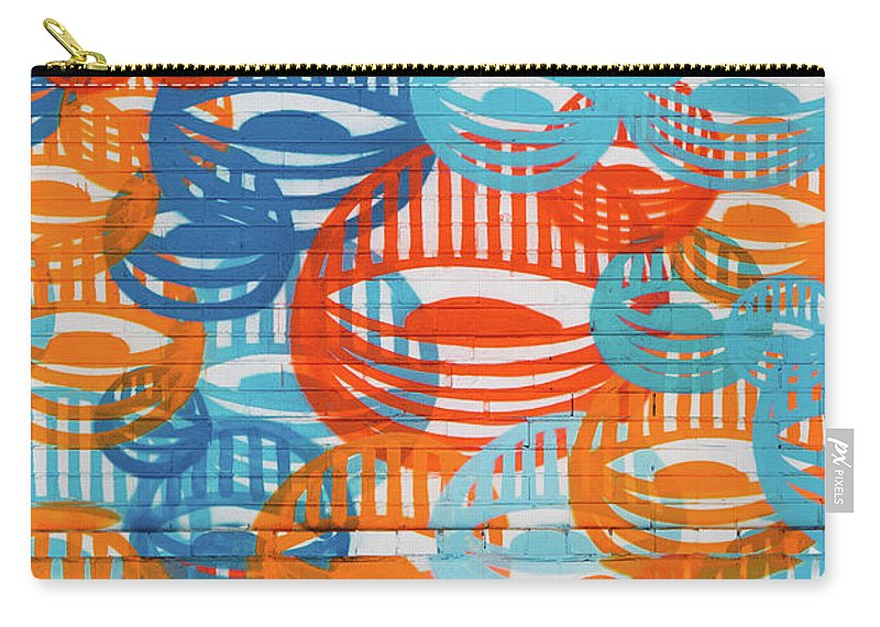 Fights Of Delight Carry-all Pouch featuring the digital art Fights Of Delight by Tylissa Lewis