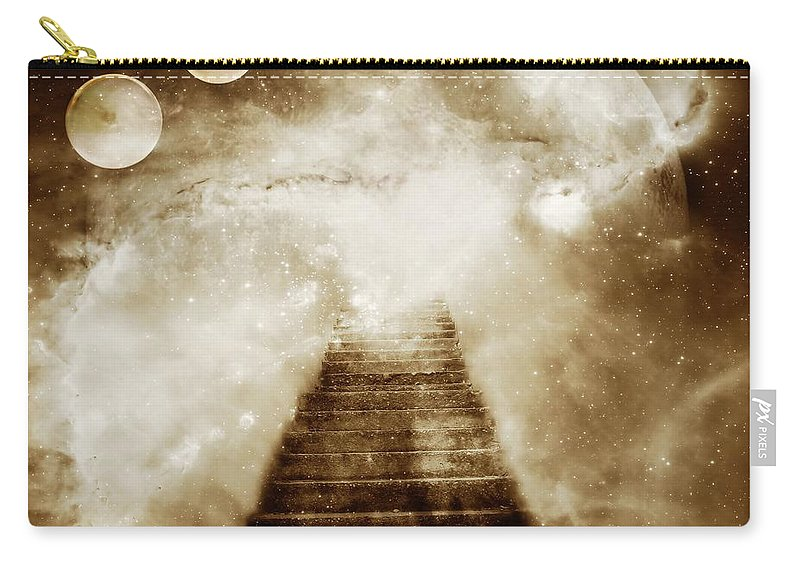 Fantasy Carry-all Pouch featuring the photograph Final Destination by Jacky Gerritsen