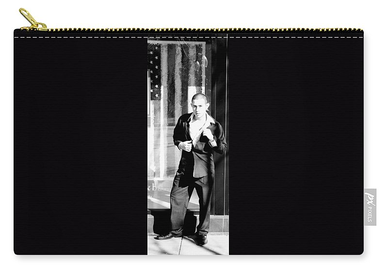 America Carry-all Pouch featuring the photograph Fine American Model by Angus Hooper Iii