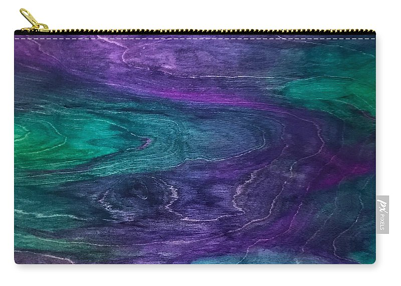 Handstained Carry-all Pouch featuring the painting F.i.n.e. by Susi Schuele