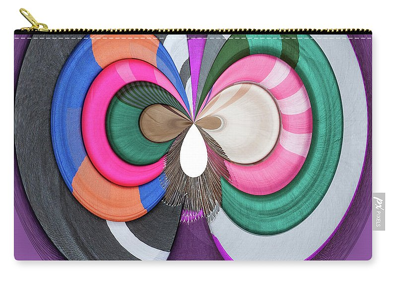 Cambodia Carry-all Pouch featuring the digital art Finest Silk by George Cathcart