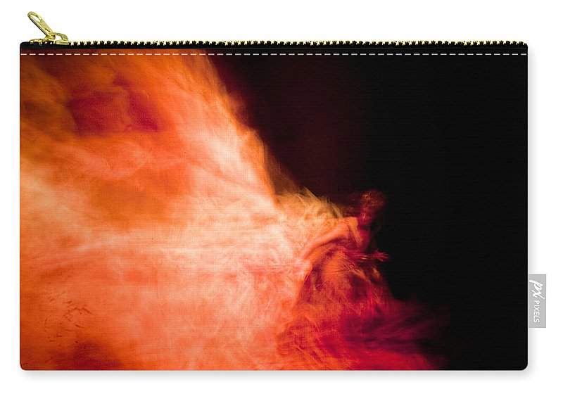 Fire Carry-all Pouch featuring the photograph Fire Dance by Scott Sawyer