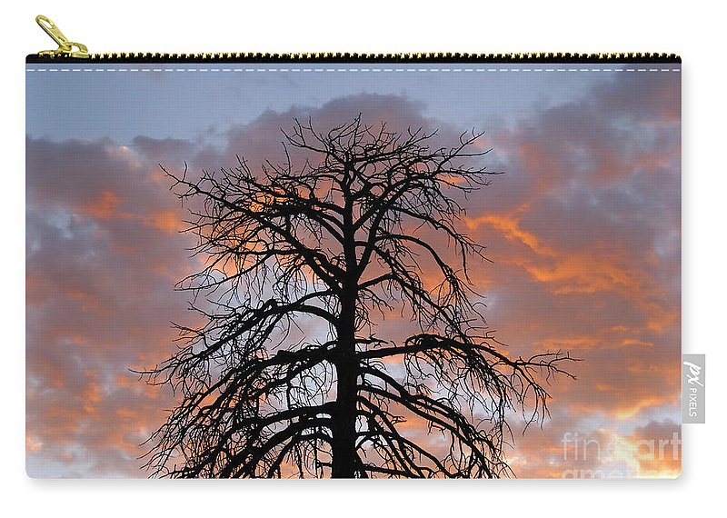 Fire Carry-all Pouch featuring the photograph Fire In The Sky by David Lee Thompson