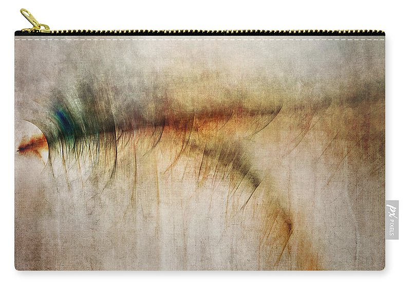 Fire Carry-all Pouch featuring the digital art Fire Walk With Me by Scott Norris