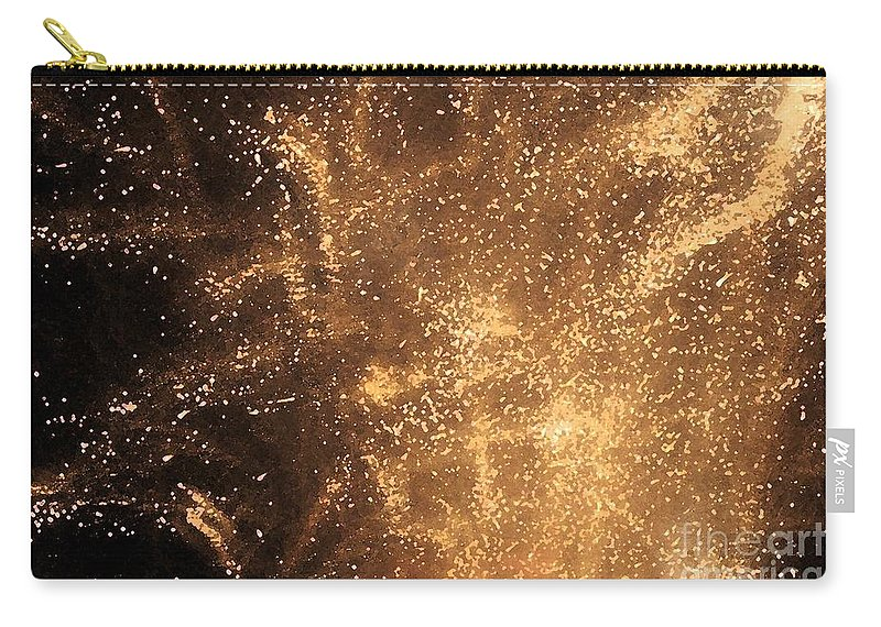 Fireworks Carry-all Pouch featuring the photograph Fired Up by Debbi Granruth