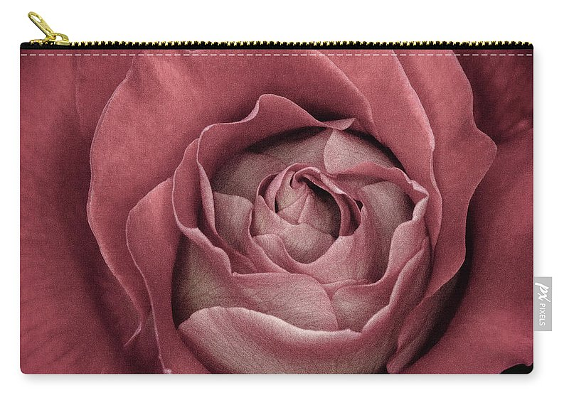 Bloom Carry-all Pouch featuring the photograph First Bloom by Anna Marie