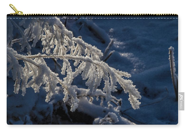 Frost Carry-all Pouch featuring the photograph First Light by Alana Thrower