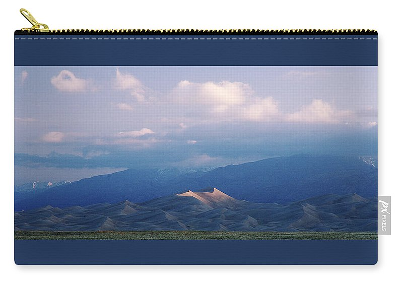 Colorado Carry-all Pouch featuring the photograph First Light by Jim Benest