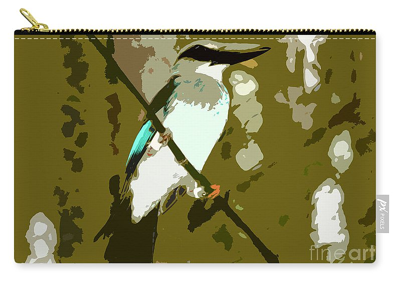 Fisher King Carry-all Pouch featuring the photograph Fisher King by David Lee Thompson